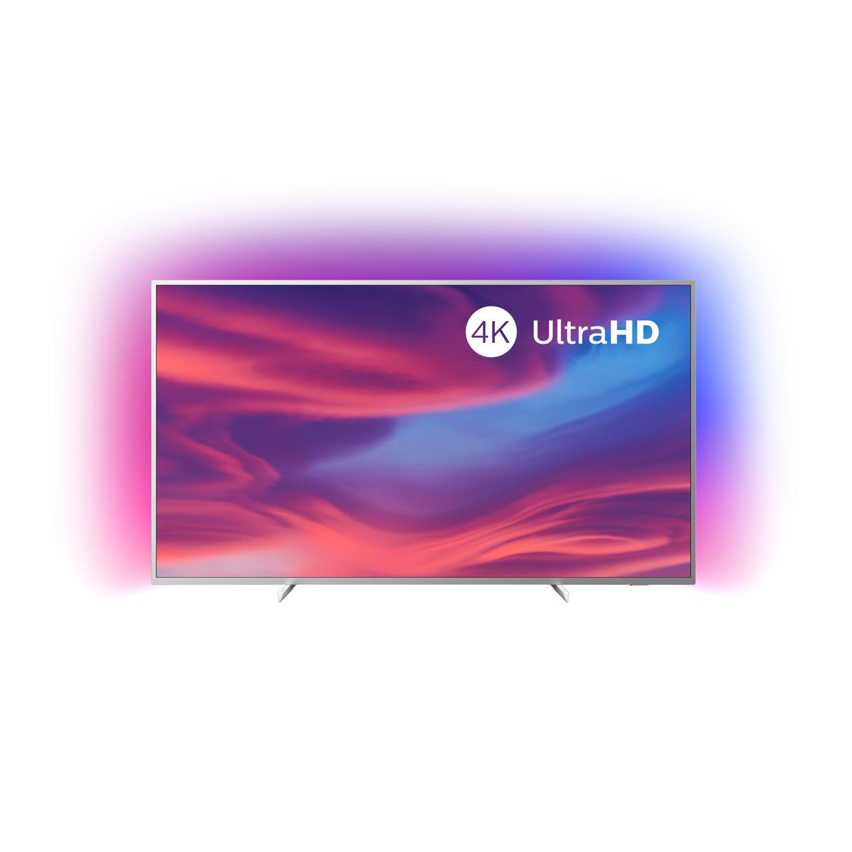 La inmersión de la iluminación Ambilight y la polivalencia de Android TV se dan cita en un televisor de 70 pulgadas con un precio en absoluto acorde con su gran tamaño. Completo y polivalente.
