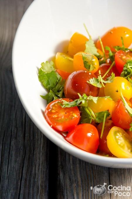 Ensalada De Tomate Cherry Cocinaconpoco Com 002