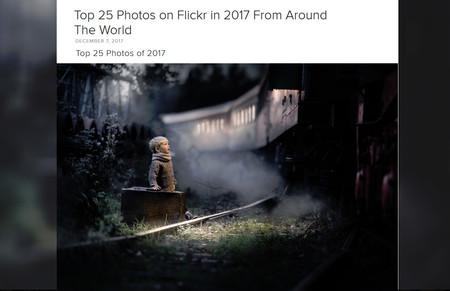 La mitad de las fotos subidas a Flickr en 2017 se hicieron con el móvil pero las DSLR siguen copando el TOP 25 de mejores imágenes