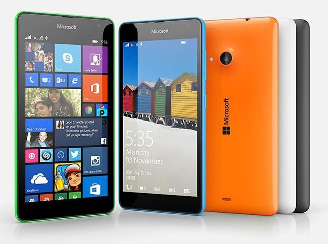 Lumia 535, el primer Windows Phone de Microsoft