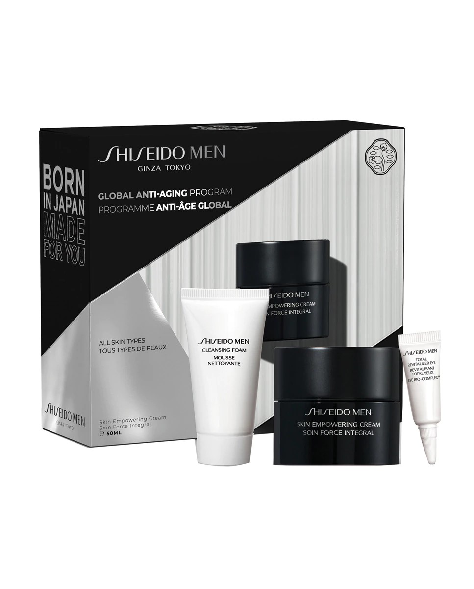 Estuche de regalo Skin Empowering Value Set Shiseido Men