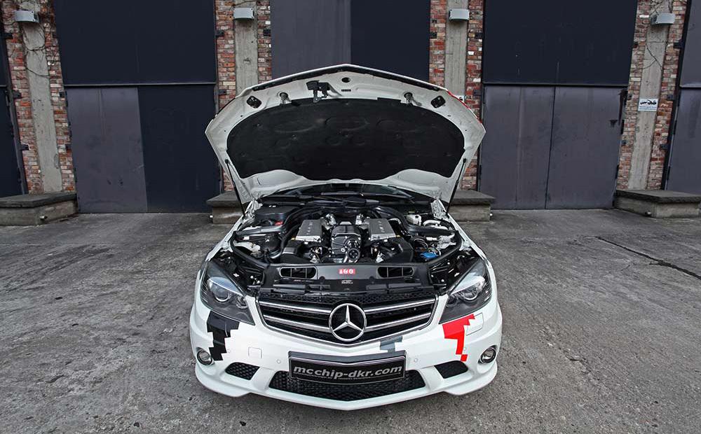Foto de Mercedes-Benz C 63 AMG por mcchip-dkr (5/7)