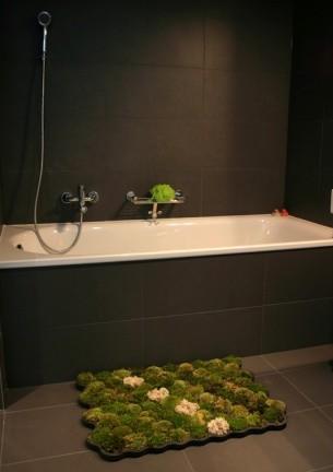 "Moss Carpet, una ""alfombra"" curiosa para tu baño"