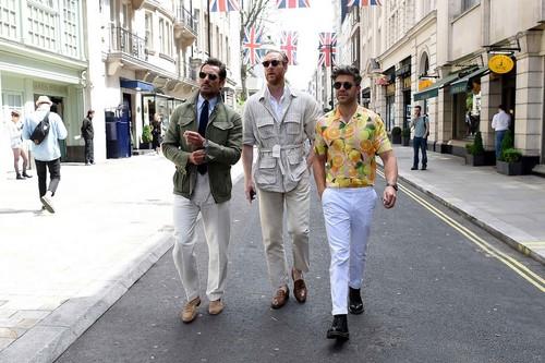 El mejor street style de la semana llega de la mano de la London Fashion Week Men's