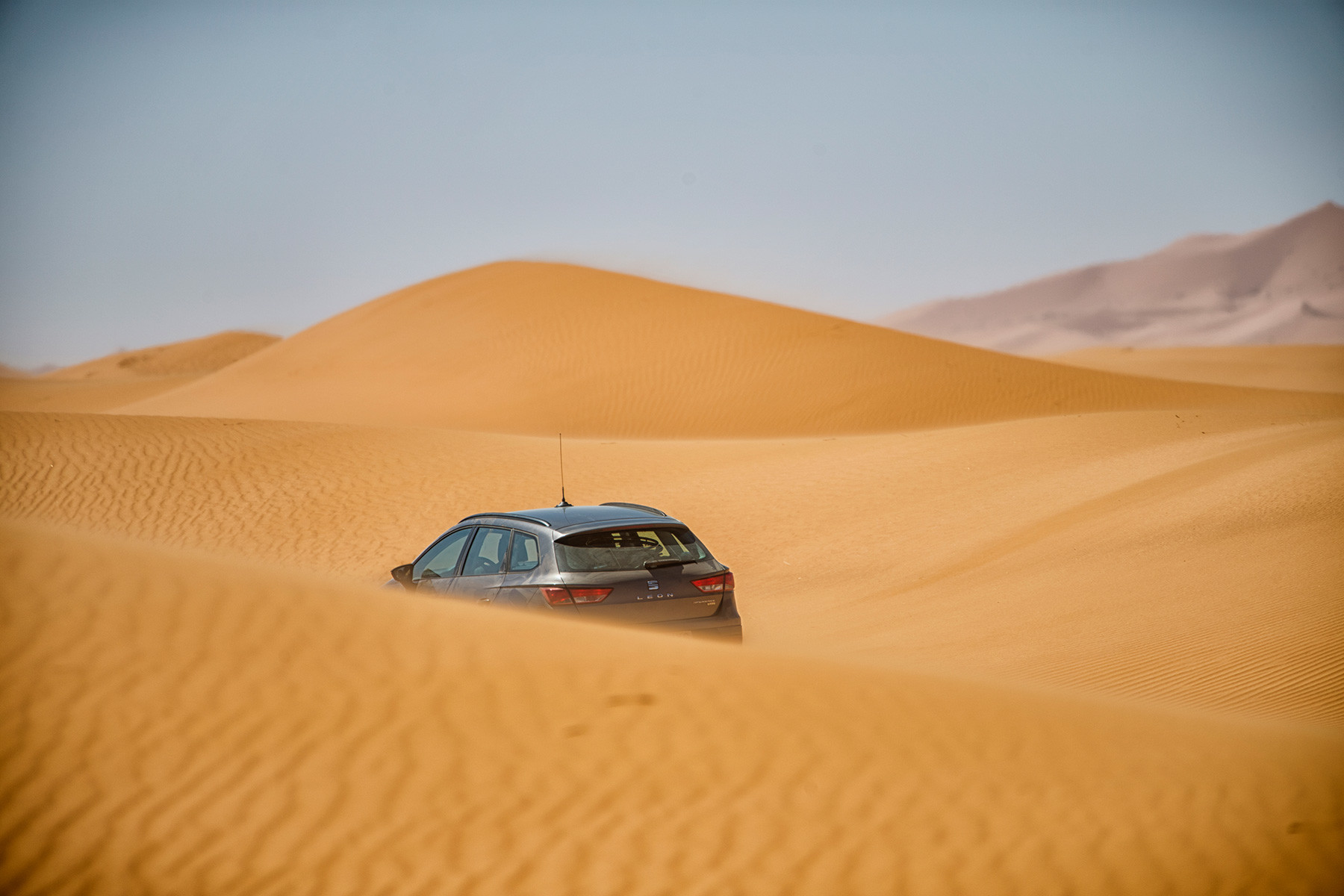 Foto de SEAT León X-Perience en el Sáhara (2/6)