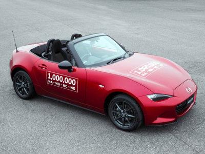 El Mazda MX-5 nunca ha dejado de gustarnos: ya van un millón de unidades fabricadas