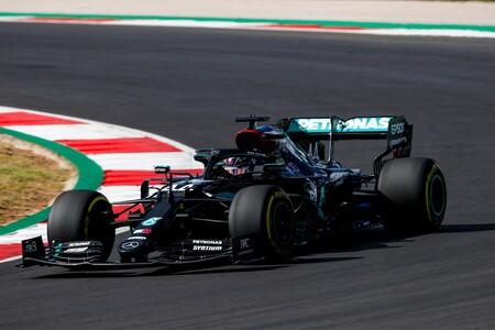 Lewis Hamilton da otro golpe de autoridad en Portimao haciendo la pole position en la última vuelta