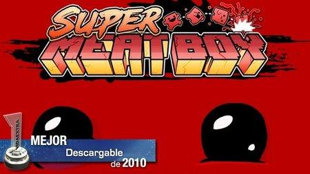 Mejor juego descargable del 2010: 'Super Meat Boy'