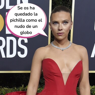 """Scarlett Johansson explota (contra) los Globos de Oro: """"Sus comentarios y preguntas rozan el acoso sexual"""""""