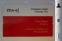 Cardreader, un OCR de tarjetas personales para tu iPhone 3GS