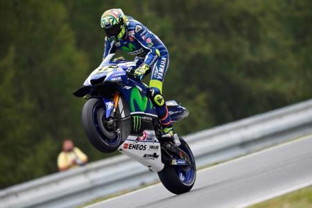 Valentino Rossi Brno 2016 Motogp Yamaha