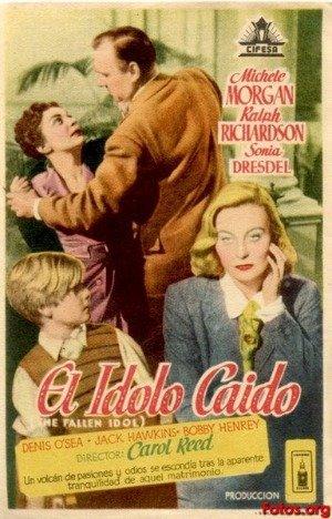 Añorando estrenos: 'El ídolo caído' de Carol Reed
