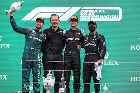 Ocon Hungria F1 2021