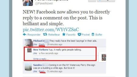 Facebook está haciendo pruebas con notificaciones de sonido y comentarios anidados