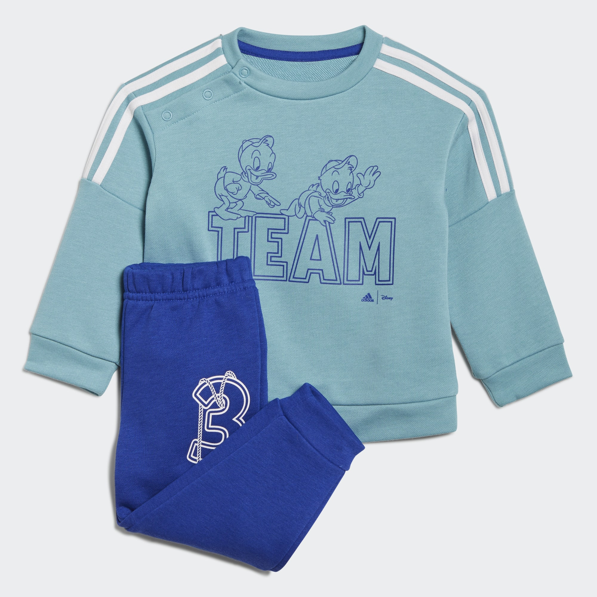 Set de sudadera y pantalones jogger de Adidas x Disney