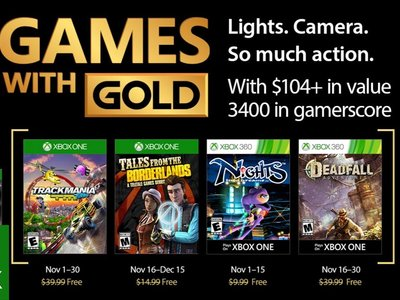 Tales from the Borderlands y el clásico NiGHTS into dreams entre los Juegos con Gold de noviembre