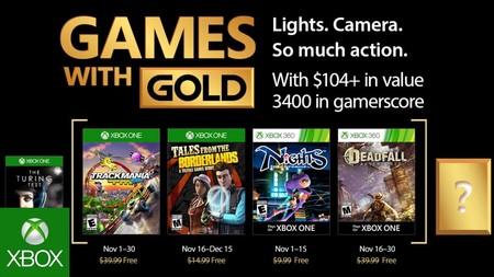 Juegos Gratis Para Xbox One Y 360 En Noviembre 2017 Con Gold