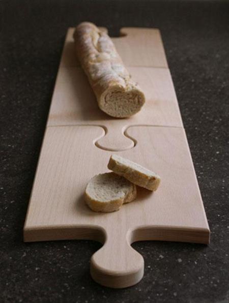 La tabla de cortar puzzle