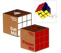 Sal y pimienta en cubos Rubik