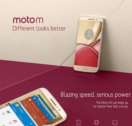 Oferta Flash: Motorola Moto M, con 4GB de RAM y cámara de 16 megapixeles, por sólo 114 euros