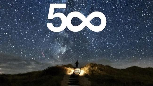 Red social sobre fotografía, 500px