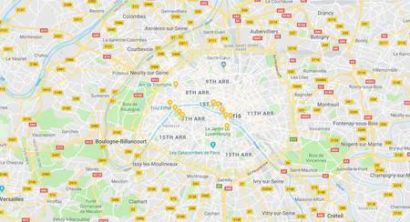 Google Maps te sugiere que descargues los mapas para tu próximo viaje