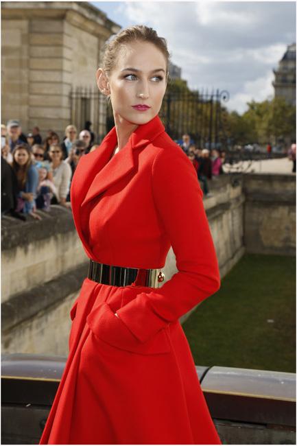 Los mejores looks de las famosas en la Fashion Week de Paris