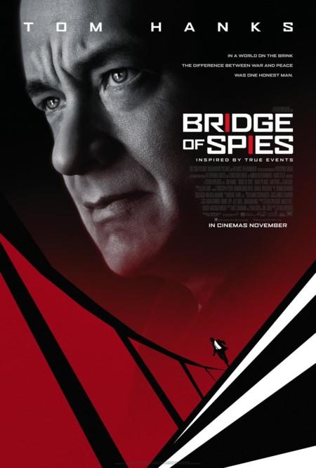 Nuevo póster de El Puente de los Espías con influencia de Saul Bass