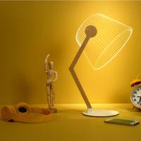 Increíble lámpara LED con efecto 3D