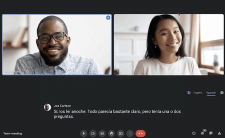 Google Meet ofrecerá subtítulos y traducciones en vivo a diferentes idiomas durante las videollamadas