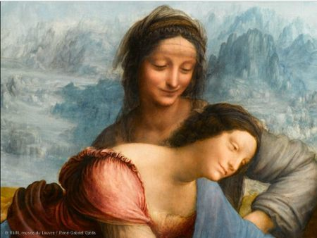 La guerra de los restauradores, la última obra de Leonardo verá la luz mañana en el Louvre