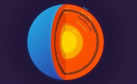 Probablemente, a más de 600 km de profundidad existen montañas más altas de media de las que hay en la superficie de la Tierra