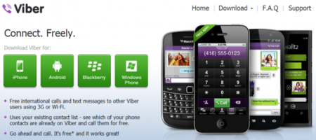 Lanzado Viber para Windows Phone y BlackBerry