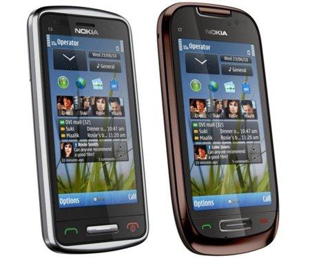 Nokia C6 y Nokia C7