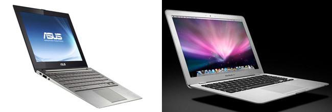 MacBook Air y Asus Zenbook