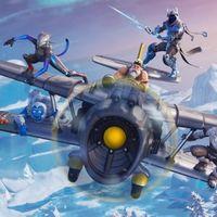 Temporada 7 de Fortnite: aviones, skins de armas, un nuevo Pase de Batalla y nieve, mucha nieve.