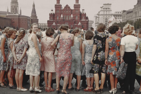 Savelev Redsquare Girls 1981 Moscow