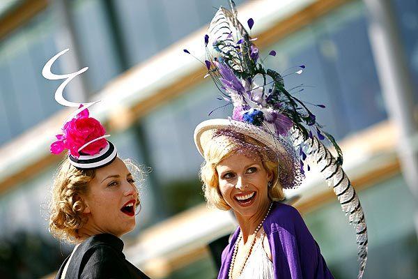 Ascot 2008: imágenes de sombreros, tocados y pamelas