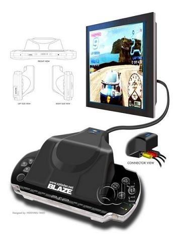 Blaze presenta otro conversor de PSP a tele