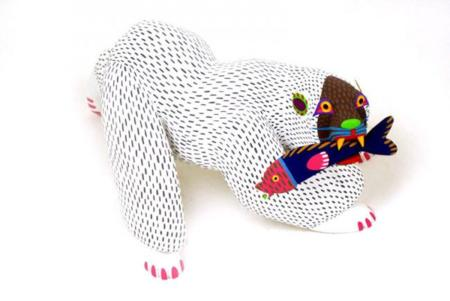 ¿Conoces las geniales esculturas Mexicanas de Oaxaca? Pop up trasnochado con un 'look' naif