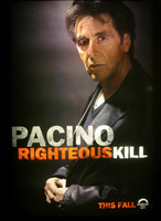 Teaser posters de 'Righteous Kill', con Robert de Niro y Al Pacino