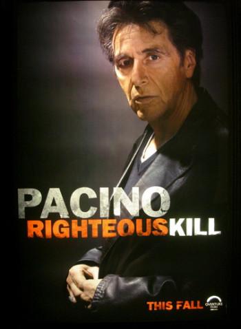 Teaser posters de 'Righteous Kill', con Robert de Niro y Al Pacino