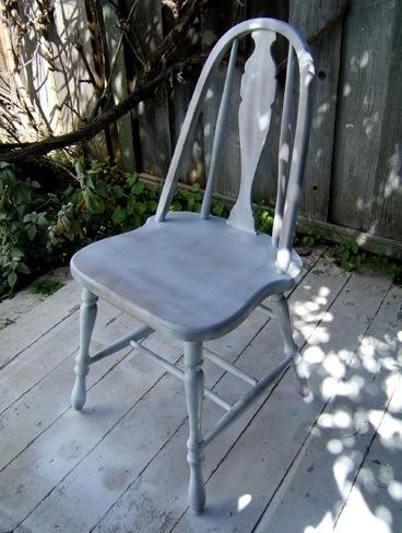 silla gradiente blanco