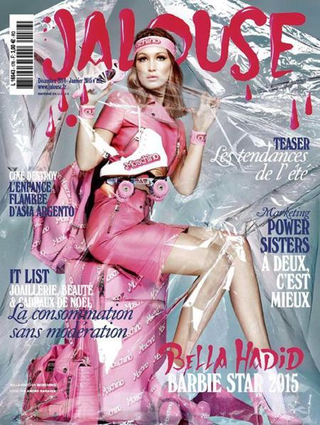 Bella Hadid comienza el 2015 con su primera portada para Jalouse
