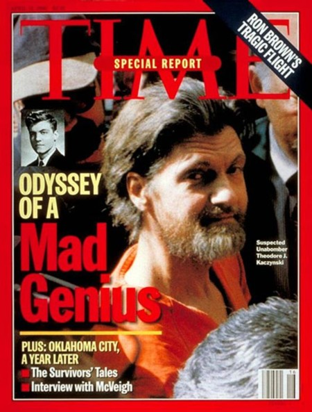 587 Time Magazine Unabomber Cover