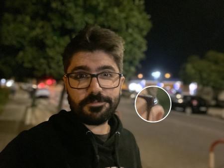 Selfie Noche Retrato