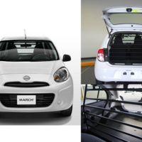Nissan March Cargo, el subcompacto se vuelve vehículo de trabajo