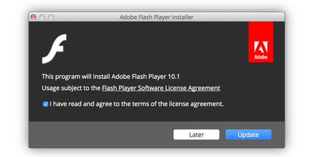 Instalador Adobe Flash Player