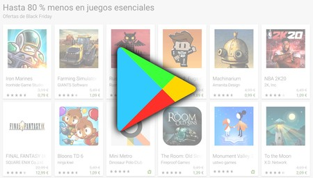 Black Friday Google Play 2