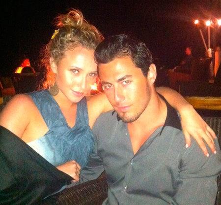 Hayden Panettiere y su novio